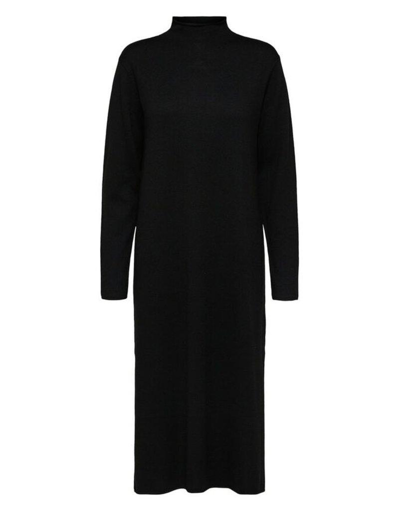 SELECTED FEMME SLFINKA CASHMERE LS KNIT DRESS B