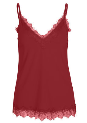 ROSEMUNDE 4217-427 Strap top cranberry