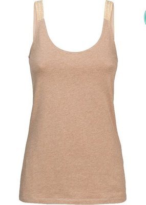 SUMMUM WOMAN 3s4469-30209 Singlet r-neck organic cotton ea basics melange