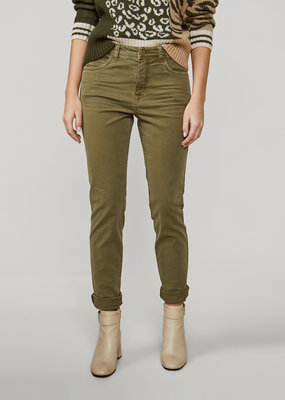 SUMMUM WOMAN 4s2046-11328 Straight utility twill