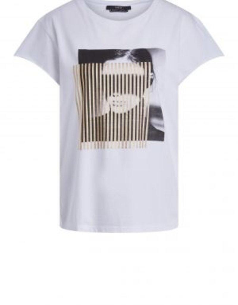 SET FASHION 71114 Casual print shirt with gold motif