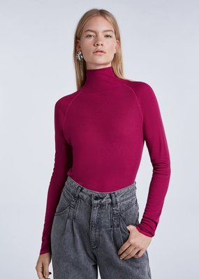 SET FASHION 70425 High-quality ribbed turtleneck