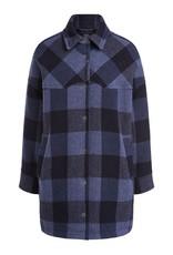 SET FASHION 70260 Checked long overshirt