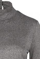 DANTE6 Roux print lurex top
