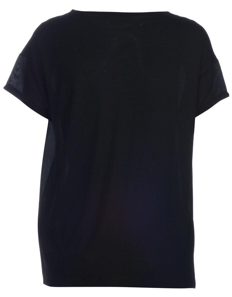 SET FASHION Silk t-shirt