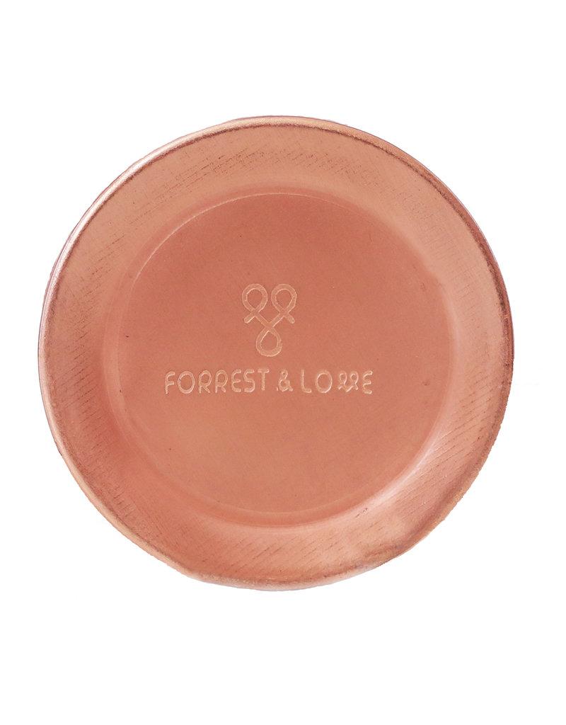 FORREST & LOVE DIAMOND COPPER WATER BOTTLE 600 ML
