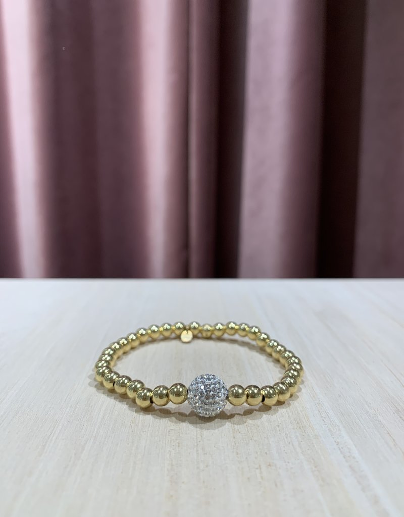 CLBR706-1 Bracelet Elastic Disco L
