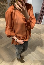 RUE DE FEMME Melona blouse RdF Rue de Femme
