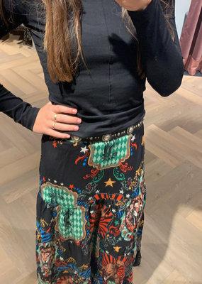 ALIX THE LABEL Big circus maxi skirt