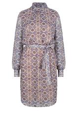 DANTE6 XERED MOZAIC PRINT DRESS