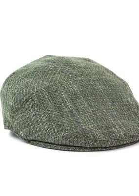 OLD HABITS DIE HARD FLAT CAP HUNTER GREEN
