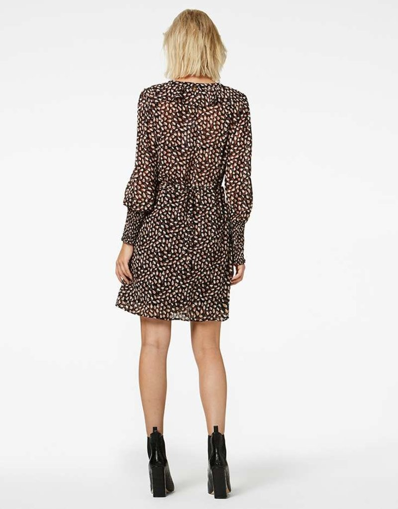 FREEBIRD HEALY MINI DRESS BROWN