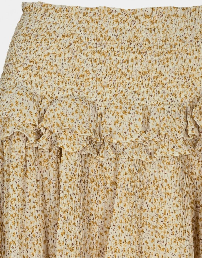 SOFIE SCHNOOR S211207 SKIRT YELLOW