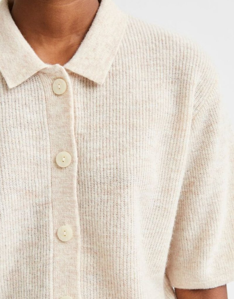 SELECTED FEMME SLFHANNE 2/4 KNIT CARDIGAN W