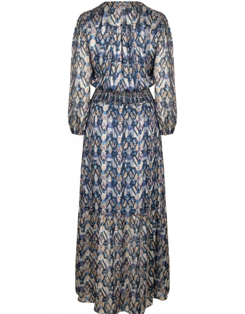 DANTE6 BARDON AZTEC PRINT LONG DRESS