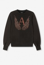 ALIX THE LABEL A WINGS SWEATER BLACK