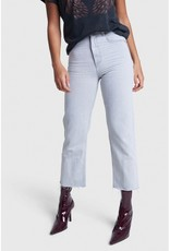 ALIX THE LABEL STRAIGHT JEANS PALE GREY
