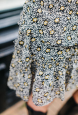 CO'COUTURE DARLING FLOWER SMOCK SKIRT