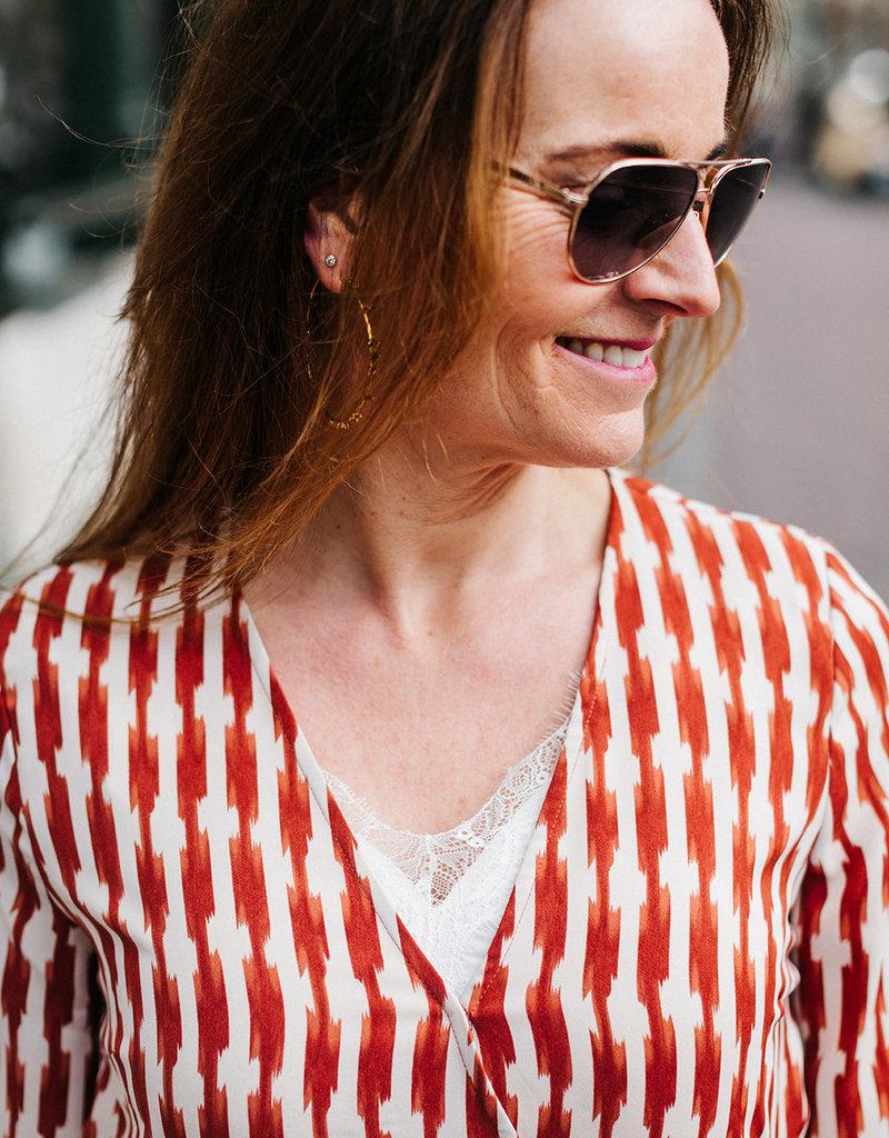 FREEBIRD ANANDA MAXI DRESS LONG SLEEVE