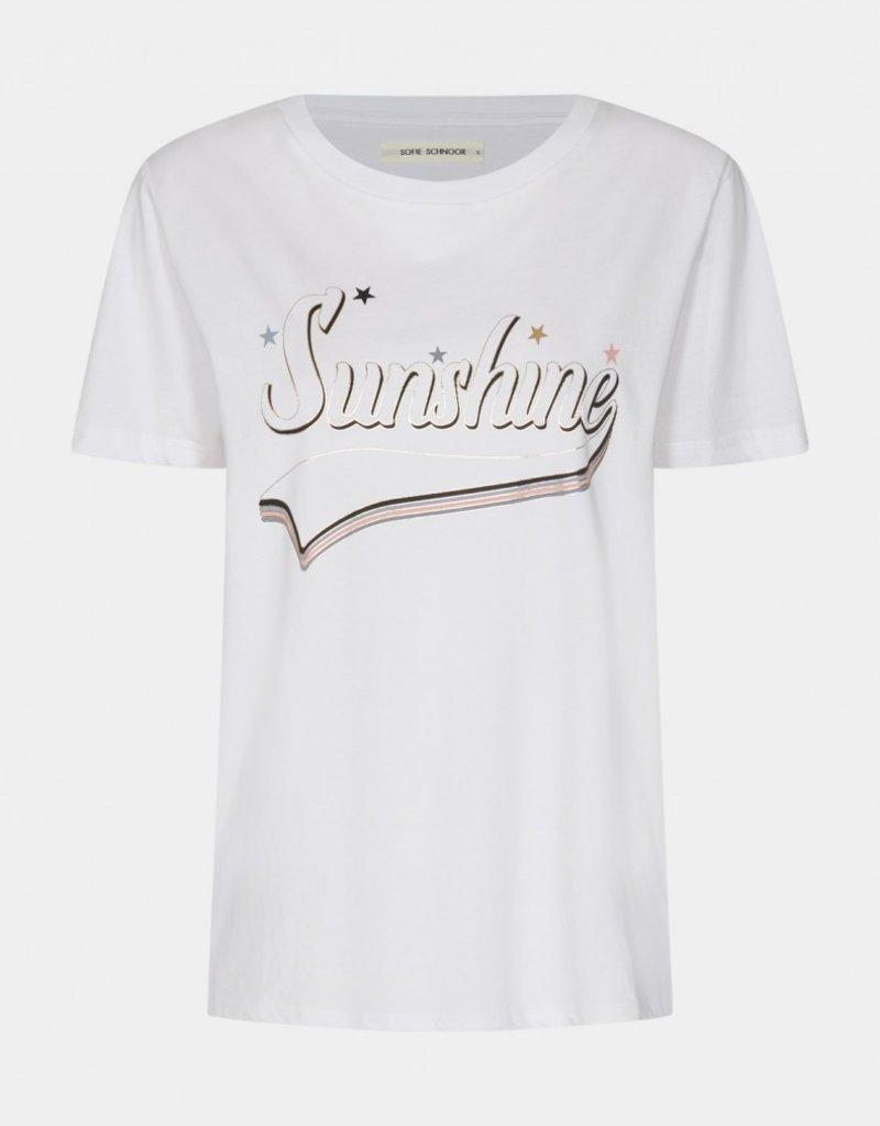 SOFIE SCHNOOR S212286 SHIRT WHITE SUNSHINE