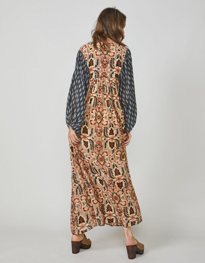 SUMMUM WOMAN 5S1233-11406 DRESS INDIAN SUMMER TERRA