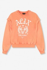 ALIX THE LABEL LADIES KNITTED ALIX UNIVERSITY SWEATER