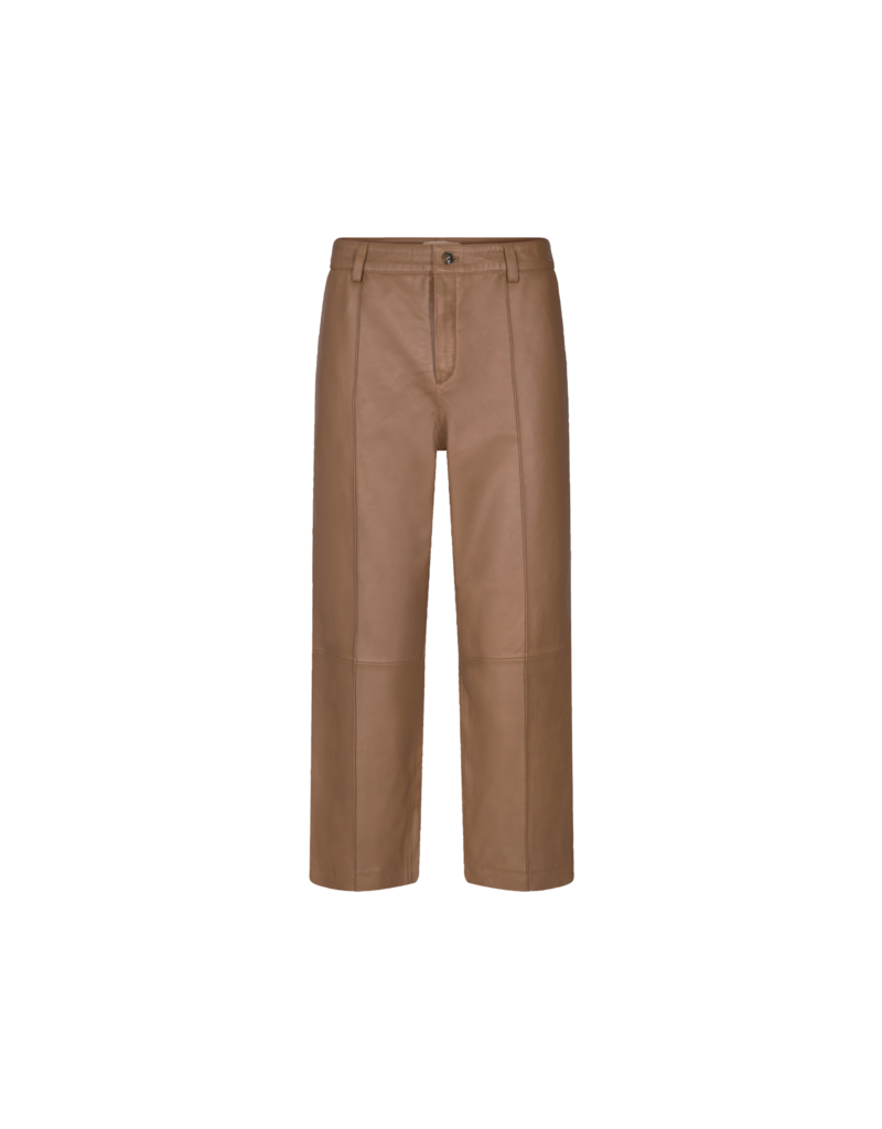 MOS MOSH COMO LEATHER PANT TOASTED COCONUT