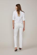 SUMMUM WOMAN 1S1025-5084 BASIC DENIM JACKET WHITE