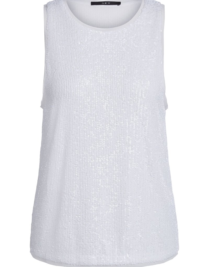 SET FASHION 73063 TOP BRIGHT WHITE