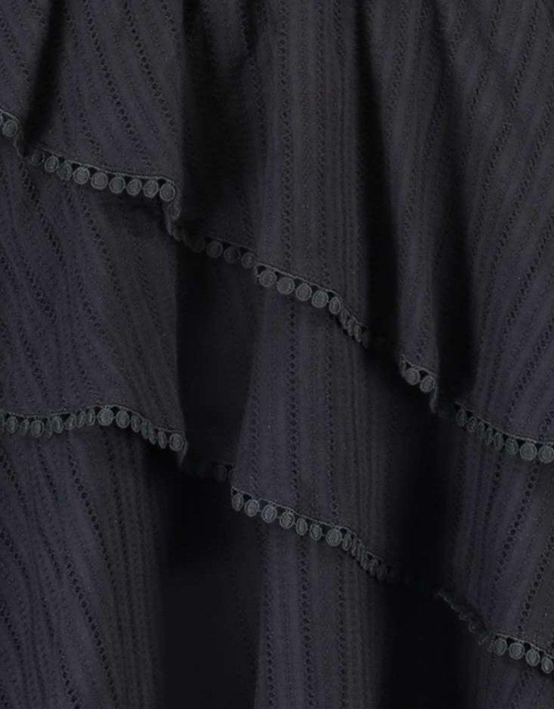 FREEBIRD KYONA MINI DRESS LACE COTTON BLACK