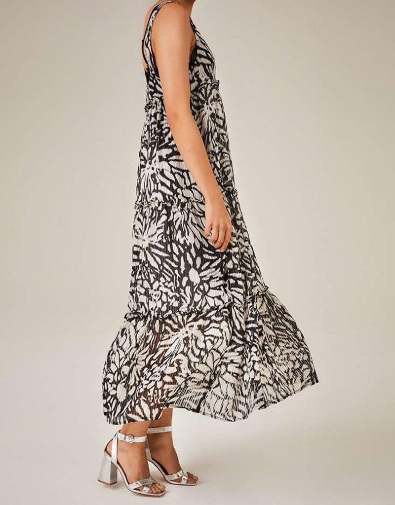 FREEBIRD YEDDA MAXI DRESS ARTI FLOWER BLACK
