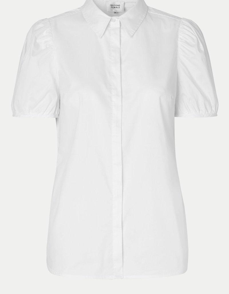 SECOND FEMALE GLASGOW SHIRT BRIGHT WHITE