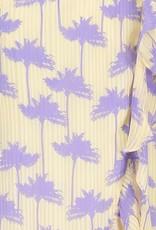 FREEBIRD OLGA MAXI DRESS PALM PURPLE
