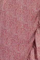 FREEBIRD ROSY MINI DRESS ETHNIC STRIPE RED