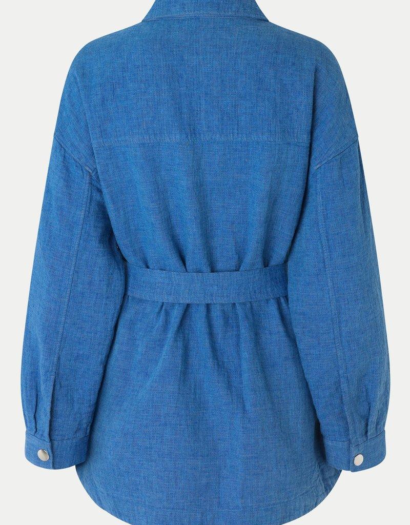 SECOND FEMALE CALOUS JACKET  BEL AIR BLUE