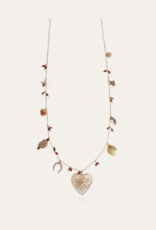 GAS BIJOUX FLOVELY COLLIER RED