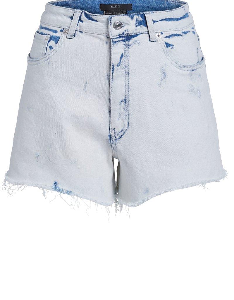 SET FASHION 73450 SHORT WHITE BLUE