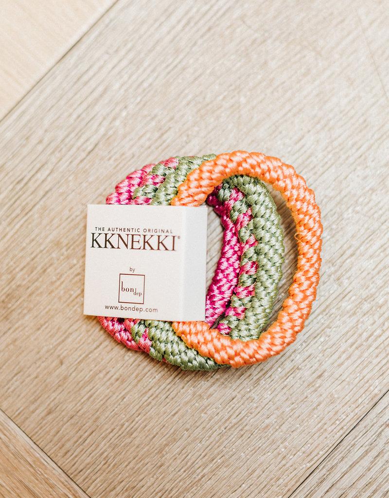 BON DEP ART. 6 4-PACK KKNEKKI PINK GREEN