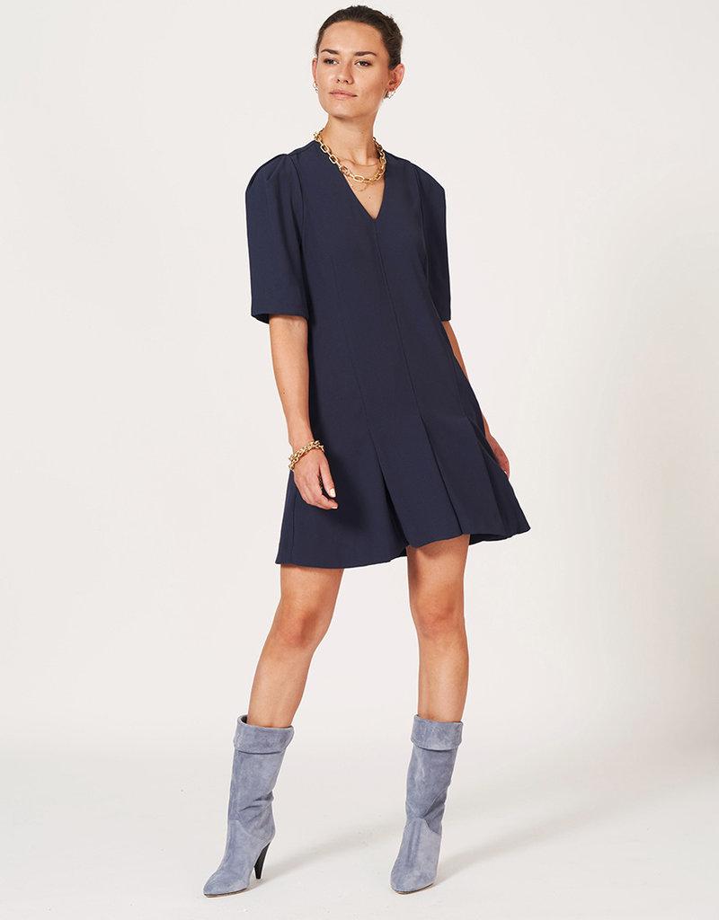 DANTE6 REBEL DRESS MIDNIGHT BLUE