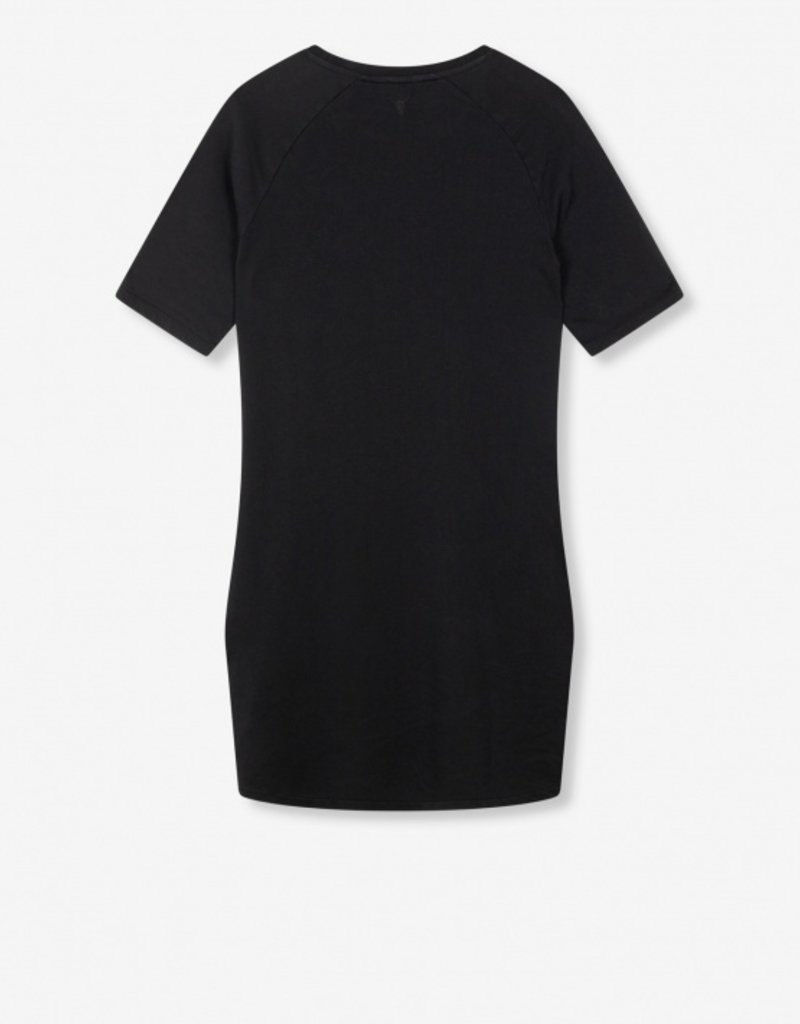 ALIX THE LABEL ALIX SWEAT DRESS BLACK