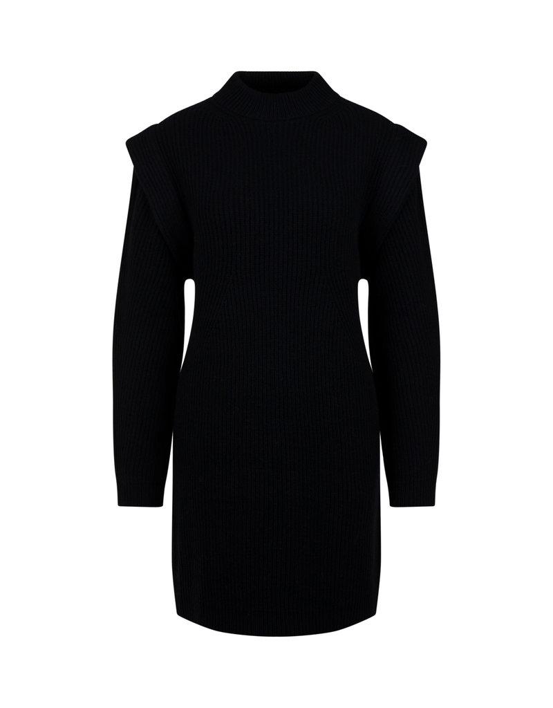 DRYKORN CHEREN DRESS KNIT BLACK 1000