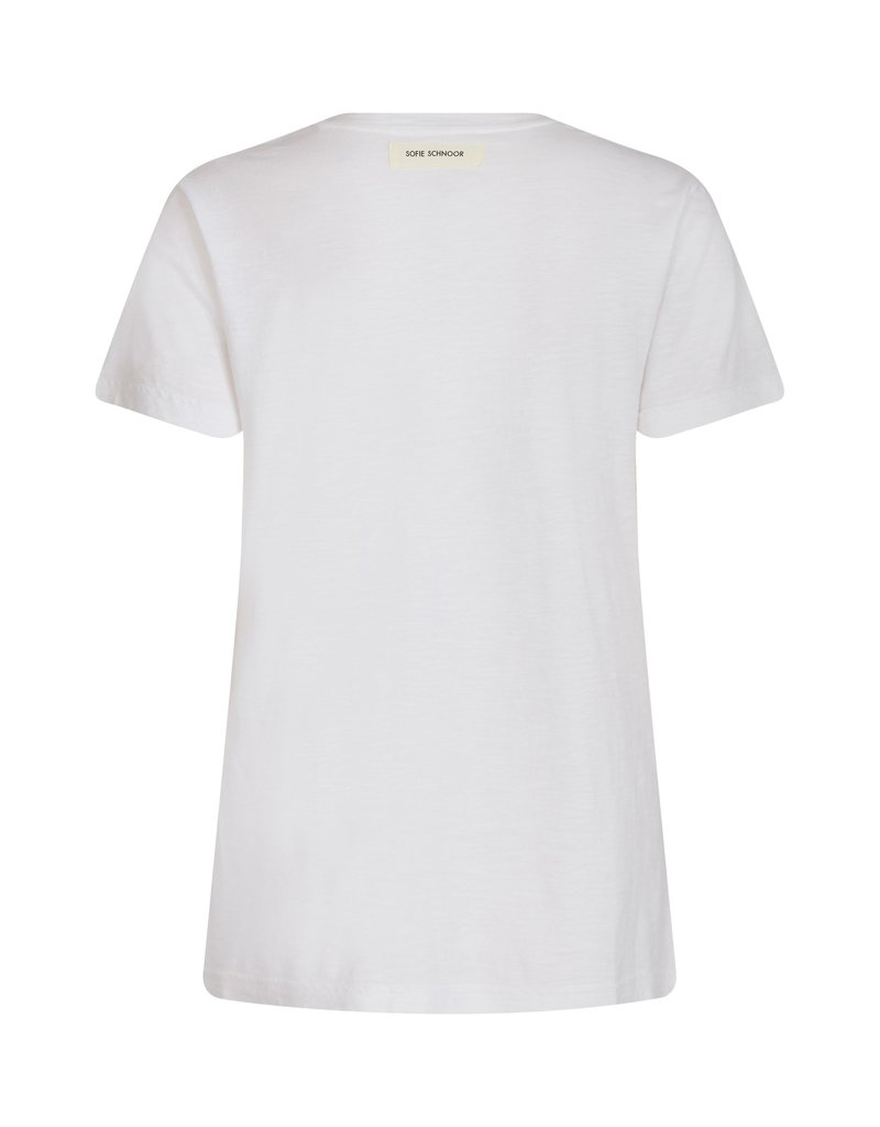 SOFIE SCHNOOR S213316 CADY SHIRT WHITE