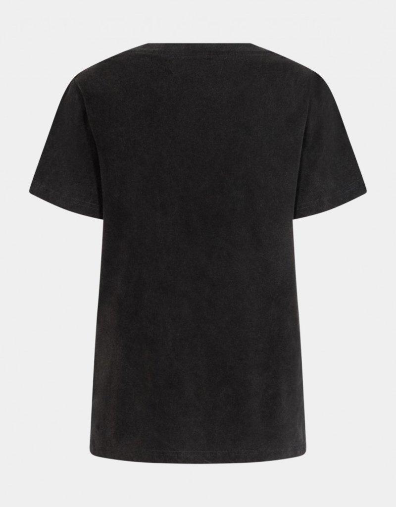 SOFIE SCHNOOR S213369 CADY SHIRT BLACK