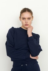 SECOND FEMALE CARMELLA SWEAT MARITIME BLUE