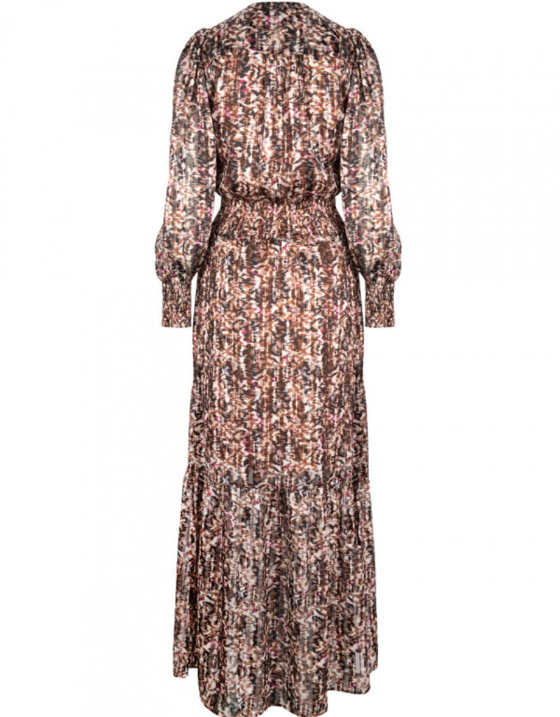 DANTE6 ELISABEL PRINT JACQUARD DRESS MULT