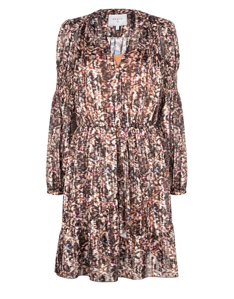 DANTE6 BELIEF PRINT JACQUARD DRESS