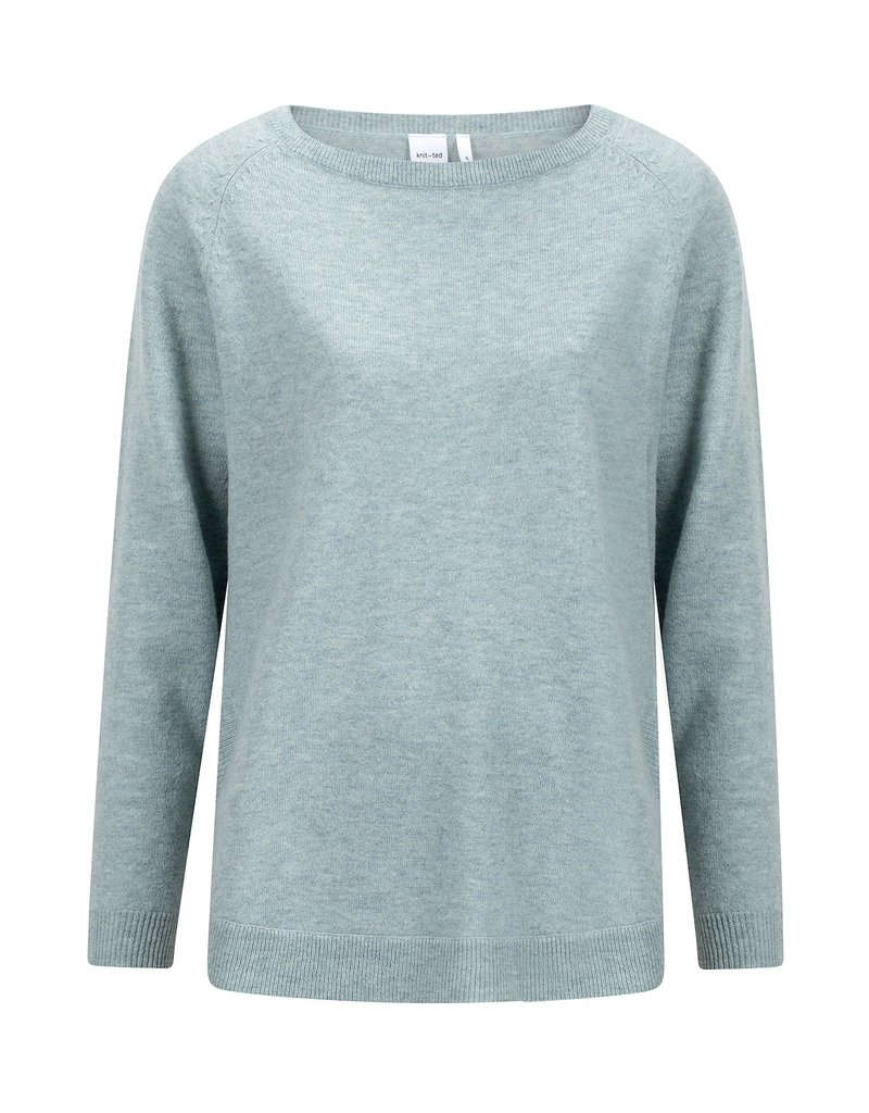 KNITTED NINA PULLOVER FROST