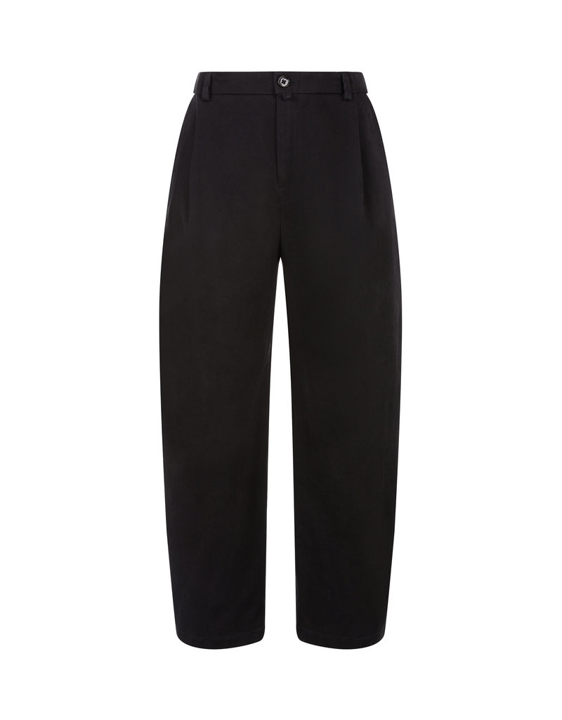 DRYKORN EARLY TROUSERS BLACK 1000