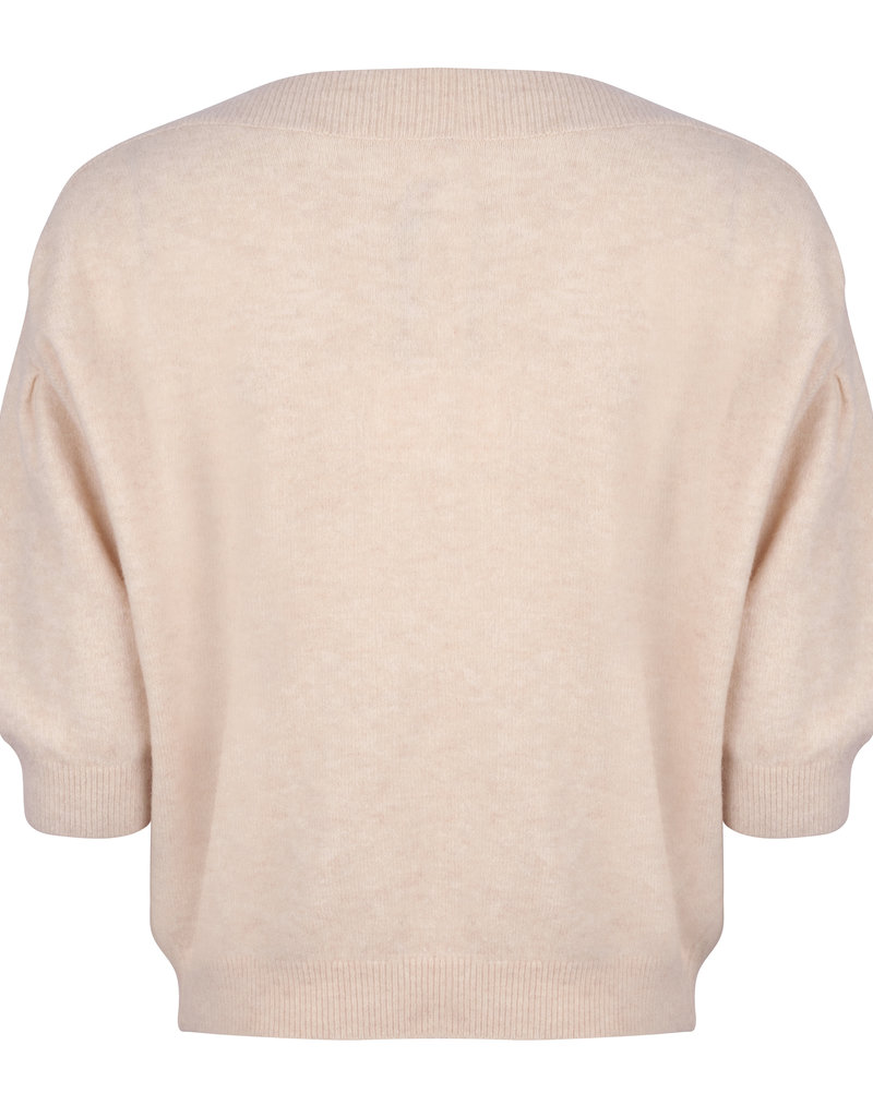 RUBY TUESDAY VEVY KNITTED TOP TAFFY
