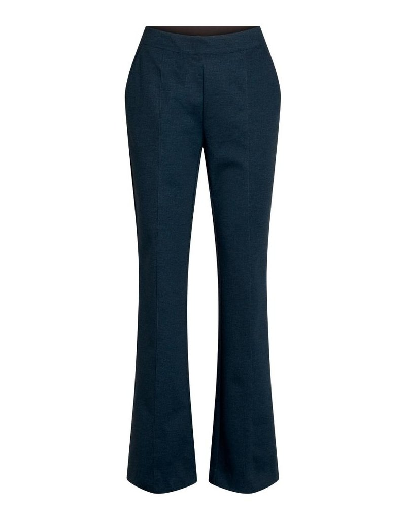 CO'COUTURE NEW SIKKA FLARE PANT DARK DENIM
